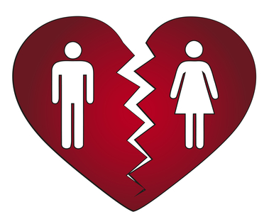 couple getting divorced